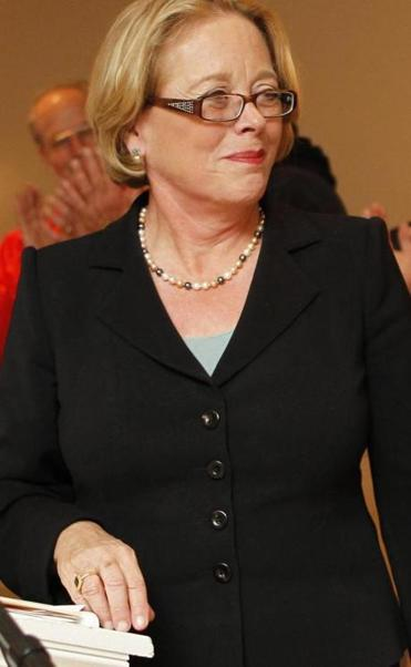 Congresswoman Niki Tsongas was instrumental in negotiating a land deal for the Methuen company.
