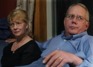 Above, Dot and Paul Odgren, whose son John, a special-needs student who attended Lincoln-Sudbury Regional High, is serving life without parole at Bridgewater State Hospital for the 2007 murder of James Alenson.