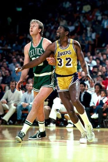 "TNT's ""NBA Forever"" commercial brought the memories of the Larry Bird and Magic Johnson era to live, mixed with footage of modern NBA stars."
