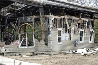 The Macedonia Church of God in Christ is a predominantly black church in Springfield. It was torched in 2008.