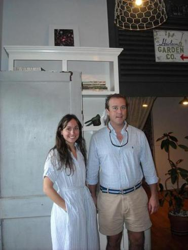 Carlye Dougherty and Brad Norton are co-owners of Heirloom Book Co. along with Bryan Lewis.
