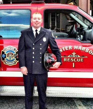 Chris Conway wants make the transition from call firefighter in Center Harbor, N.H., to full-time first responder.