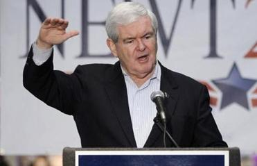 As Gingrich seeks the GOP presidential nomination, he is fighting not just for the country's future, as he often proclaims, but also against his past.