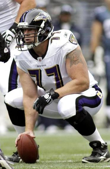 Baltimore Ravens center Matt Birk had just graduated from Harvard with a degree in economics.