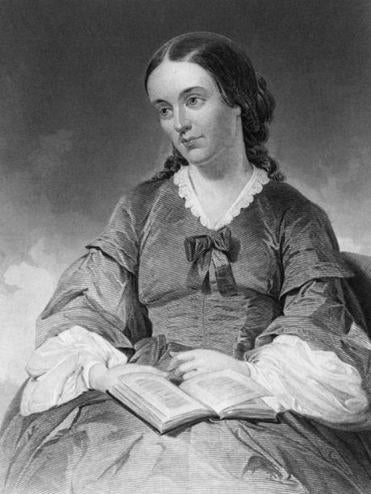 Margaret Fuller drowned with her young son and his father in a shipwreck in 1950.