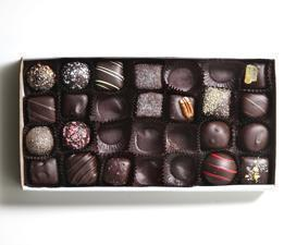 02/01/2012 WATERTOWN, MA A box of chocolates photographed at reporter Sheryl Julian's home in Watertown. (Aram Boghosian for The Boston Globe)