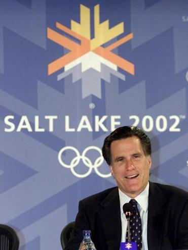 Mitt Romney was the head of Salt Lake City's Olympic committee when the city last hosted the Games in 2002.
