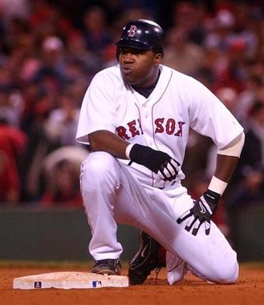 David Ortiz was frustrated after being forced out at second in the eighth inning.