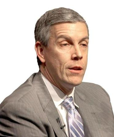 "US Secretary of Education Arne Duncan is seeing more and more graduates of four-year universities going to community colleges for the ""technical training to get a real job."""