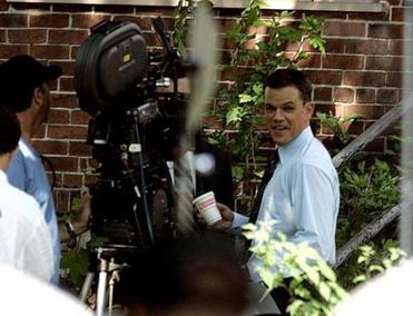 South Boston was used in filming ''The Departed,'' where actor Matt Damon grabbed a cup of coffee during rehearsal. The 2006 film won four Academy Awards.