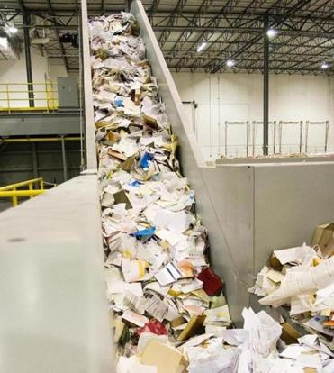 Document destruction is one of Iron Mountain's services.