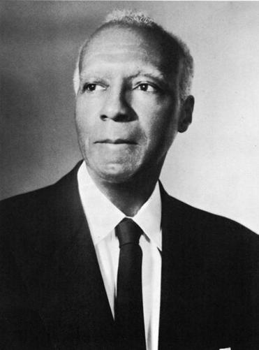 A portrait of African-American labor leader A(sa) Philip Randolph (1889 - 1979), circa 1950. (Photo by Hulton Archive/Getty Images)