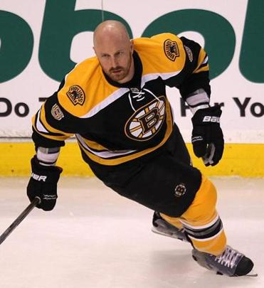 Before Saturday's game, Greg Zanon (above) couldn't crack Boston's defensive six-pack.