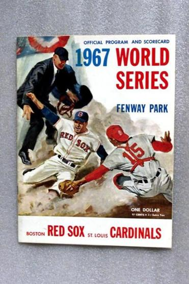 The program from the 1967 World Series.