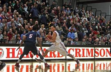 Harvard plays its home games at the intimate Lavietes Pavilion.