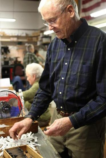 Former chemical engineer Bob O'Mara, 75, joked that he came to Vita Needle partly to escape his wife's ''honey do'' list. ''If you're doing something that somebody values and is willing to pay you for, then right away you feel affirmed,'' he said.