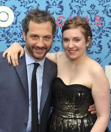 "Judd Apatow and Lena Dunham both brought their love of story-telling to the series ""Girls."""