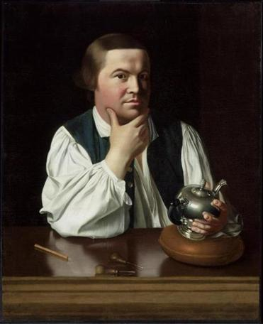 "Copley's ""Paul Revere"" (1768) has become an icon of Revolutionary-era America."