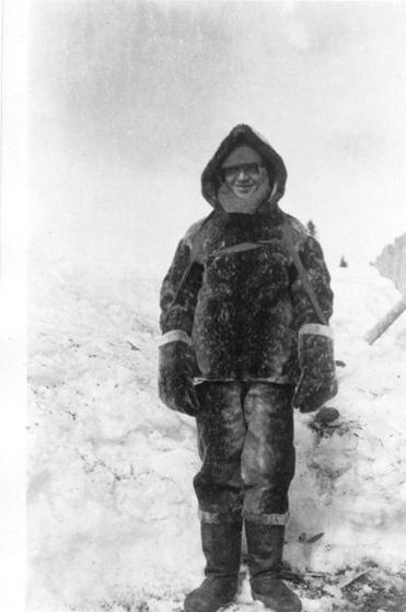 Birdseye in Canada's Labrador, circa 1912, where he began thinking of building a frozen-food business.