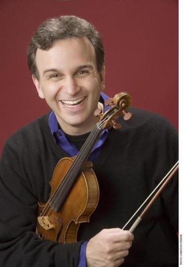 Gil Shaham performed the day after the blizzard at Jordan Hall.