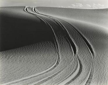 """White Sands, New Mexico,'' both from the Lane Collection."