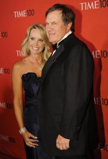 Patriots coach Bill Belichick and girlfriend Linda Holliday attended the Time 100 Gala in New York on Tuesday, two days before the NFL draft.