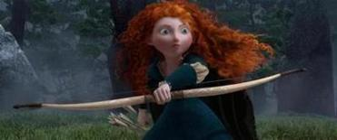 "Kelly Macdonald gives voice to an archer who is put under an evil spell in ""Brave."""