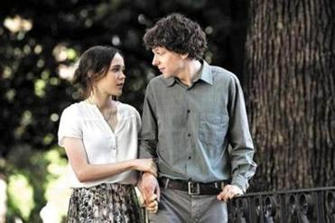 "Ellen Page and Jesse Eisenberg are part of Woody Allen's eclectic cast in ""To Rome With Love."""