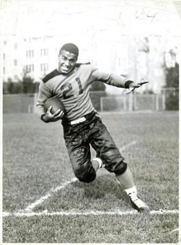 Lou Montgomery was a victim of Jim Crow while playing halfback on the Boston College football team in 1939 and 1940.