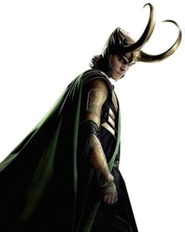 "Tom Hiddleston plays Loki, the brother of Thor and the bad guy in ""The Avengers."""