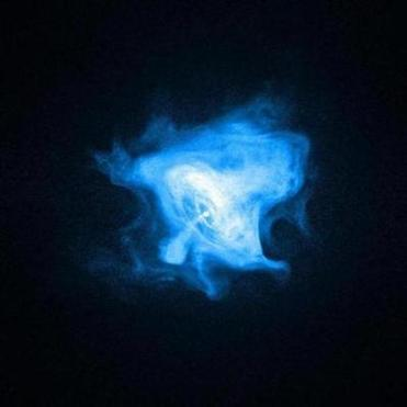 A pulsar lies at the heart of the Crab Nebula, 6,000 light years from Earth.