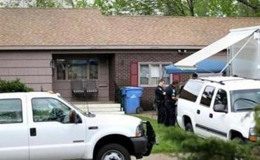 Manchester CT Ma . 05/10/2012 A FBI Evidence Response Team and other Law Enforcement were at the home of Robert Gentile (cq) who may be a suspect in the Gardner Museum heist. A view of the front of the home. Staff / Photographer: Jonathan Wiggs Reporter:Section:Metro :Reporter:Slug: