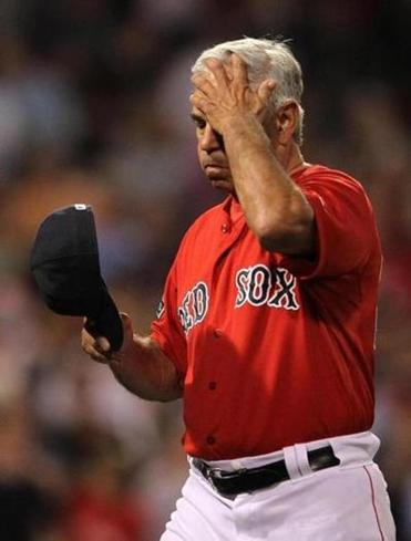 Red Sox manager Bobby Valentine initially balked at responding, but he later lashed out at Rays staff.