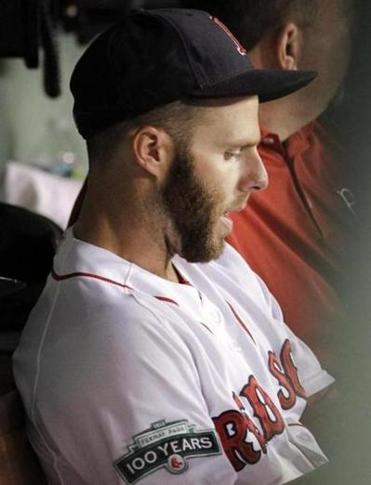 Dustin Pedroia wants to play through what he revealed Tuesday night was a tear in the muscle in his right thumb.