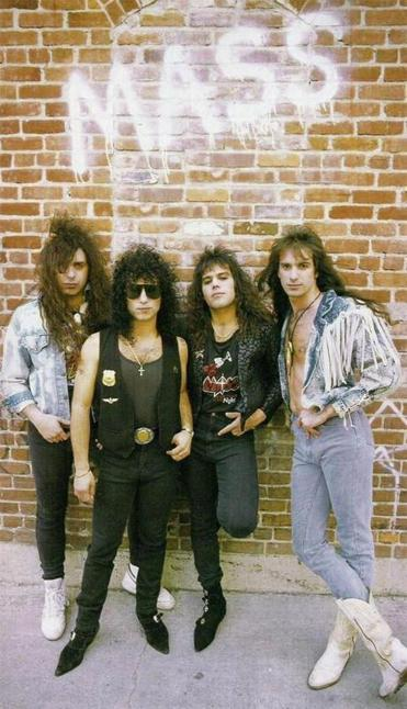 The band Mass in 1988. They played to packed houses at Narcissus in the late '80s and soon recieved a record contract, says the band's singer Louis St. August.