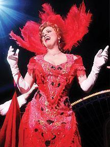 "Jacquelyn Pira Donovan stars in ""Hello Dolly"" at the North Shore Music Theatre."