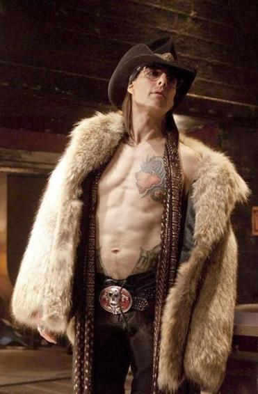 "Tom Cruise as rock 'n' roll decadent Stacey Jaxx in ""Rock of Ages."""