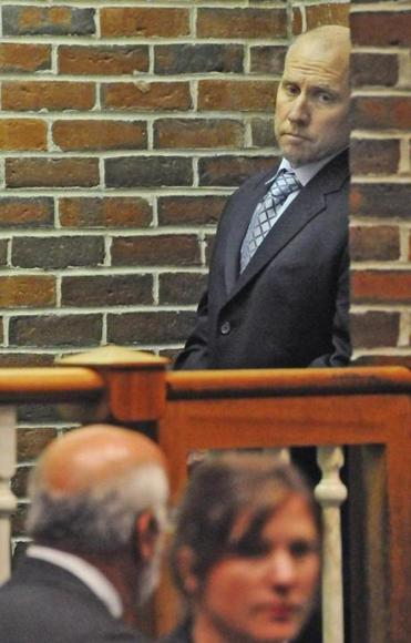 Thomas LaCroix, seen attending a hearing last summer, is scheduled to begin trial in Concord District Court in June.
