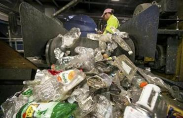 About a quarter of the single-stream recyclables collected is unusable and ends up in landfills or incinerators.