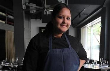 Deuxave Pastry Sous Chef Giselle Miller.