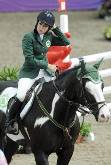 Because her horse was injured, Saudi equestrian Dalma Rushdi Malhas will not compete in the 2012 London Olympics.