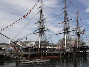 The USS Constitution is perhaps the nation's most famous warship.