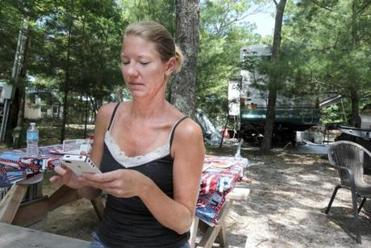 Mary MacDougall, a seventh-grade math teacher and mother of two from East Taunton, checked her iPhone. She underestimated the amount of technology her family had packed.