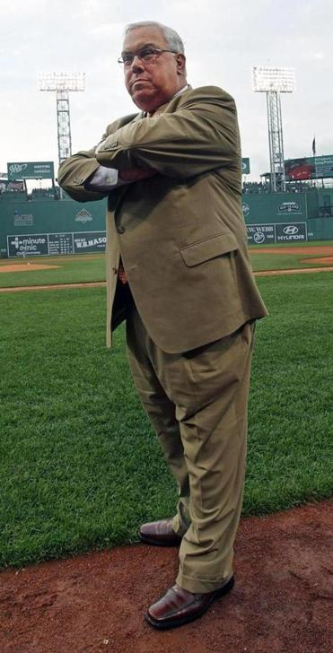 Boston Mayor Thomas Menino at Fenway Park last month.