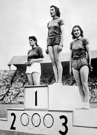 In 1948, the number of events in the London Olympics had increased to 136, including many for women.