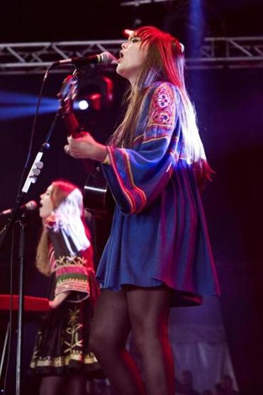 Swedish sister duo First Aid Kit performs at Royale on Sept. 28.