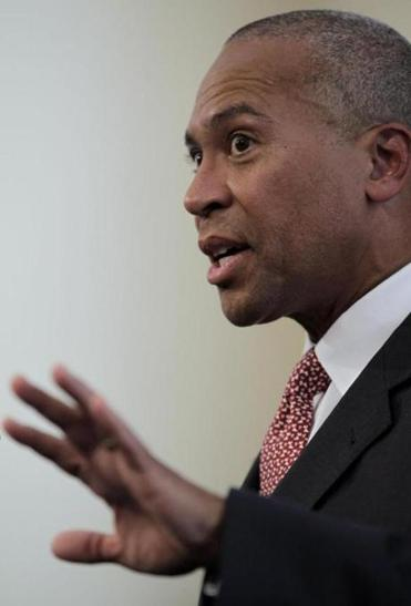 Governor Patrick said he thinks there are circumstances in which judges should have some flexibility in sentencing third-time felons.