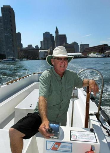 "Don Benoit, 53, says, ""It was always a dream of mine to one day have a charter boat."" And three years ago he took the plunge, starting Come Sail Away Now charter boat service in Boston Harbor."