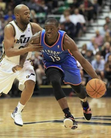 Reggie Jackson decided to take a chance on a professional career, and the move paid off as he reached the NBA Finals as a reserve guard with the Oklahoma City Thunder.