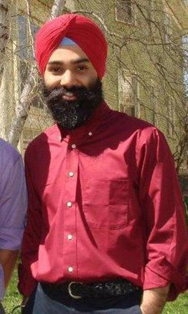 Harpreet Singh shown in Madison, Wis., in 2010.